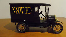 1925 model T ford NSW PD Police platinum edition truck paddy wagon 1/24