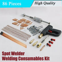 Auto Dent Reparatur Puller Werkzeug Schweißen Verbrauchsmaterialien Kit Hammer