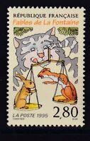 France année 1995 Fables de La Fontaine Chat Belette Lapin N°2962** réf 6861