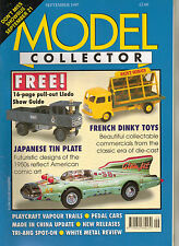 MODEL COLLECTOR Magazine Sep 1997 EFE Corgi Dinky Triang Spot-On Lledo Playcraft