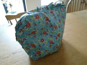 VINTAGE / RETRO PADDED TEA COSY - PLASTIC OUTER FABRIC - KITSCH
