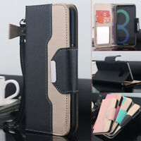 Luxury Magnet Flip Cover Stand Wallet Leather Case Samsung Galaxy Note 8 S9 S10+