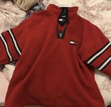 Tommy Hilfiger Pullover Red Hoody Jumper