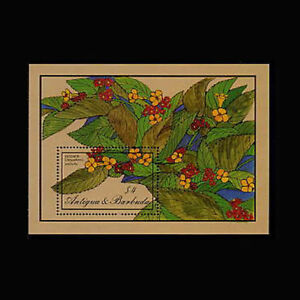 Antigua, Sc #956, MNH, 1986, S/S, Flowers, Flora, Plants, AHIAS8Z-C