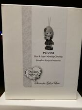 2019 Precious Moments Ornament Have A Heart-Warming Christmas #191002 New