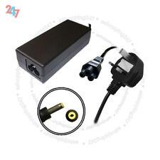 Adaptador de cargador para HP/Compaq NX6125 NX9030 NC6200 65W + 3 Pin Cable De Alimentación S247