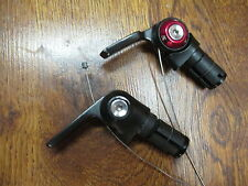 SRAM 10 SPEED INDEXED / FRICTION BAR END BARCON TRIATHLON TIME TRIAL SHIFTER SET