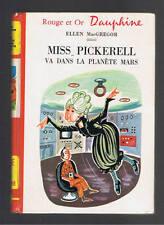 MISS PICKERELL VA DANS LA PLANETE MARS E.MACGREGOR   ROUGE ET OR DAUPHINE 1973