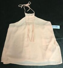 Lucy Love Halter Nude Top Size L