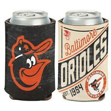 BALTIMORE ORIOLES COOPERSTOWN COLLECTION NEOPRENE CAN COOZIE KOOZIE COOLER