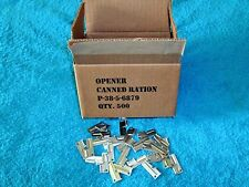 P38 Can Opener 100 Piece Heat Treated Carbon Steel P-38-5-6879 The Real Deal