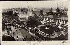 British Empire Exhibition Burma & India Pavilion 1924 Real Photo Postcard