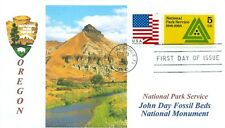 JOHN DAY FOSSIL BEDS NATIONAL MONUMENT Oregon National Parks First Day of Issue