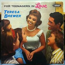 TERESA BREWER for teenagers in love LP VG LVA 9075 Vinyl 1957 Coral Vogue UK