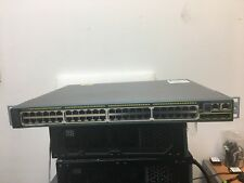 Cisco WS-C2960S-48LPS-L Catalyst 2960S Stack 48 GigE-POE 370W 4xSFP & STACK PORT