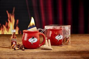 Feuerzangentasse 1er-Set (mit Rum) - für Feuerzangenbowle