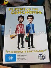 FLIGHT OF THE CONCHORDS - Season 1 DVD Complete First Series One Unique Sleeve