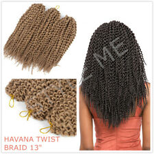 Crochet Braids HAVANA TWIST BRAID Hair Extension 1/3/5 Bundle