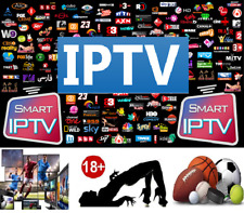 IP TV 1 Month Premium Subscription All App's Android Smart TV Adult Channels