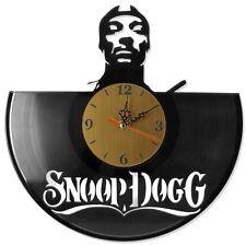 "NEW  Vinyl Record Wall Clock ""Snoop Dogg"", modern decorative art ~ 12"""