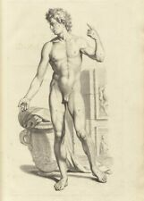 Male Body, Front , De Humani Corporis, 1685, Govert Bidloo, Anatomy Poster