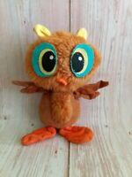 Vintage 60's Kamar Japan Plush Stuffed Toy Owl
