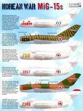 Iliad Decals 1/48 KOREAN WAR MIKOYAN MiG-15 Fighters