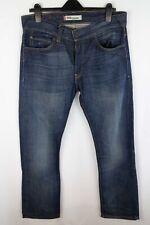 Levi Strauss & Co 506 Men Jeans Blue Straight Fit Cotton size W34 L32