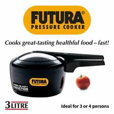 New Hawkins Futura 3 Liter Pressure Cooker Works On Gas & Induction (IF 30)