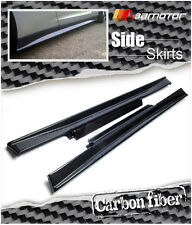Replacements M Style Carbon Fibre Side Skirts for 2009-2016 NISSAN GT-R R35 GTR