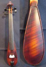 "Baroque style fancy Pochette SONG brand violin 7 3/4"",good sound #10793"