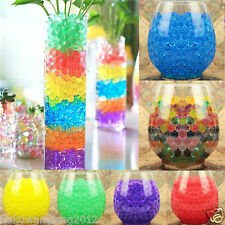 500x Rainbow Jelly Beads Water Plant Flower Crystal Soil Mud Water Pearls Ball@H