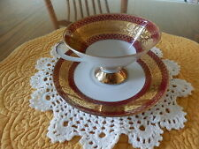 vintage WINTERLING Kirchenlamitz Bavaria CONE SHAPED Cup & Saucer with Gold Trim