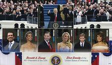 Tanzania 2017 MNH Donald Trump Melania Ivanka 7v M/S II US Presidents Stamps