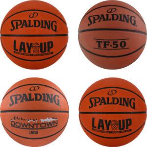 Splading Basketball NBA Indoor Outdoor Training Rubber Basketballs Size 7