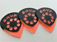 DAVA Control Guitar PICKS jazz grip gels 3 PICKS