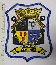 DUTCH ROYAL NETHERLANDS NAVY SHIP PATCH VAN NES Vintage Original