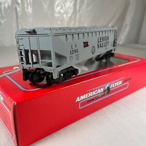 Gilbert American Flyer 6-48494 S Scale N.A.S.G LEHIGH VALLEY COVERED HOPPER