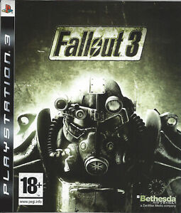 FALLOUT 3 for Playstation 3 PS3 - with box & manual