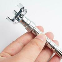 Men Adjustable Razors Double Edge Shaving Vintage Razor Shaver  Zinc Alloy