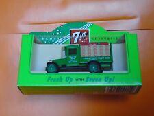 Lledo No 26017 - 7up - Diecast Model Of A Green Chevrolet Bottle Van