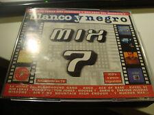 RAR 3 CD'S. BLANCO Y NEGRO MIX 7. AQUA, ACE OF BASE, EIFFEL 65, MARIO PIU