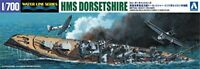 HMS Dorsetshire 'Indian Ocean Raid' 1/700 Scale Plastic Model Kit NEW from Japan