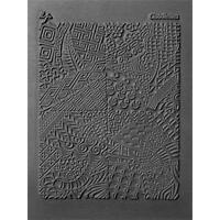 Lisa Pavelka Texture Stamp Mold Sheet Mat Polymer Clay CLOODLETTES Made in USA
