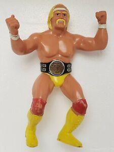 "WWF Wrestling Superstars Hulk Hogan with Belt  8"" 1984 LJN Figure Complete wwe"