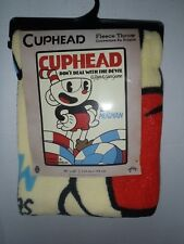 Cuphead Poker Chips Poster Don't Deal With Devil Cozy Throw Blanket New 45 X 60