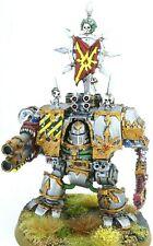 Warhammer 40k Iron Warriors Chaos Space Marines Dreadnought / Helbrute