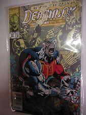 Marvel Comics Cyberwar Deathlok SIGNED  Comic# 21   Fine  SMCO7