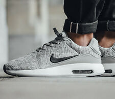 NIKE AIR MAX MODERN FLYKNIT Running Trainers Gym Casual UK 8 (EU 42.5) Wolf Grey
