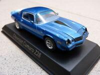 CHEVROLET CAMARO Z28 1980 bleu métallisé Norev Maquette de Voiture modèle CAR 1